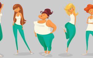 انواع شکل بدن و تغذیهی مناسب با آنها